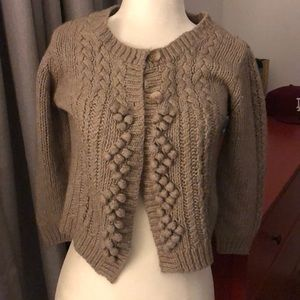 American Eagle Outfitters Crop School girl Sweater
